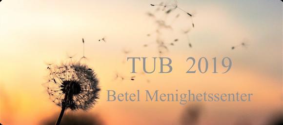 Velkommen til TUB 2019, 10.9. 2019 - 21.4 2020